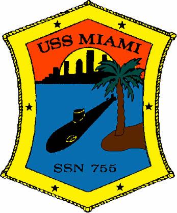 USS MIAMI SSN-755 CrestGrafik: U.S. Navy