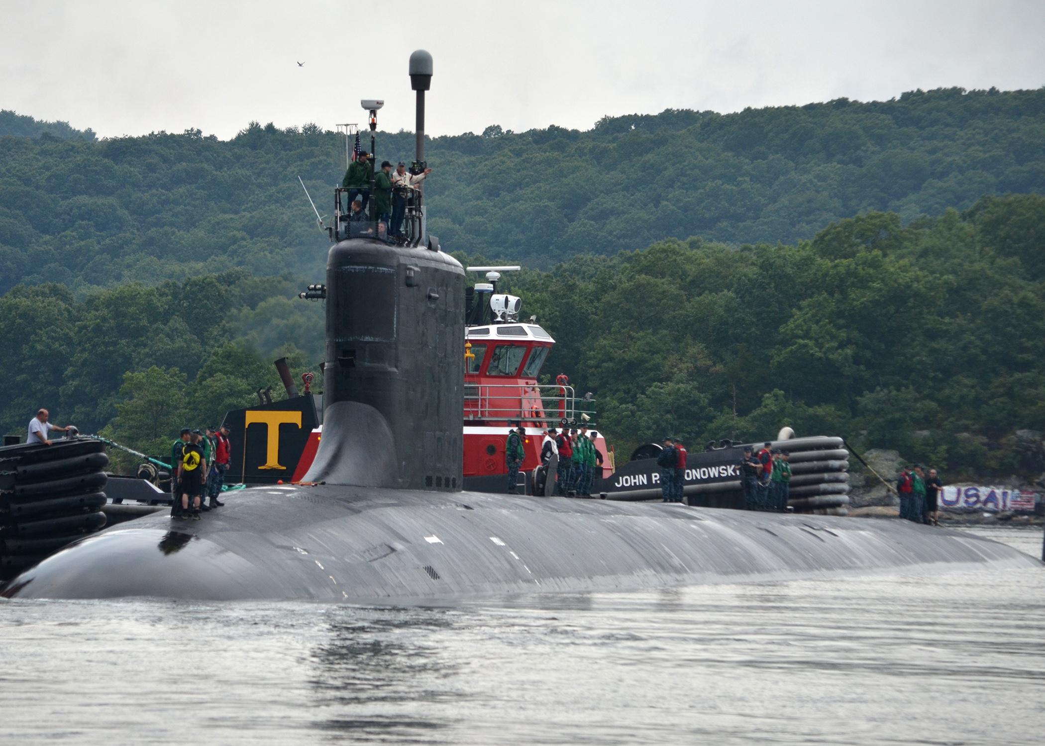 USS VIRGINIA SSN-774 Auslaufen Groton 13.08.2013