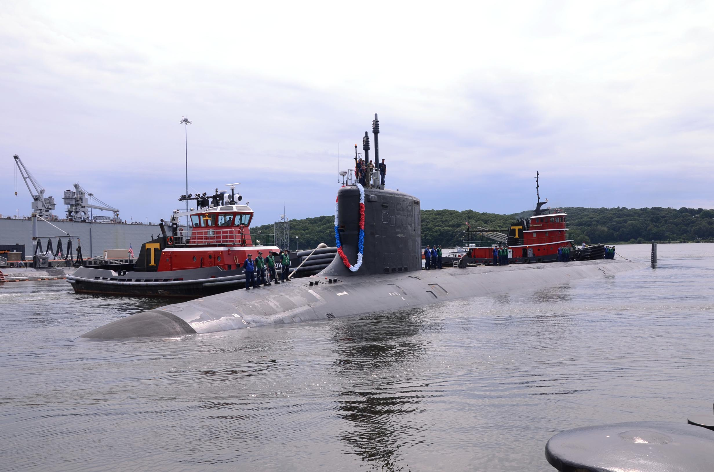 USS NEW MEXICO SSN-779 Groton, CT 12.08.2013Bild: U.S. Navy