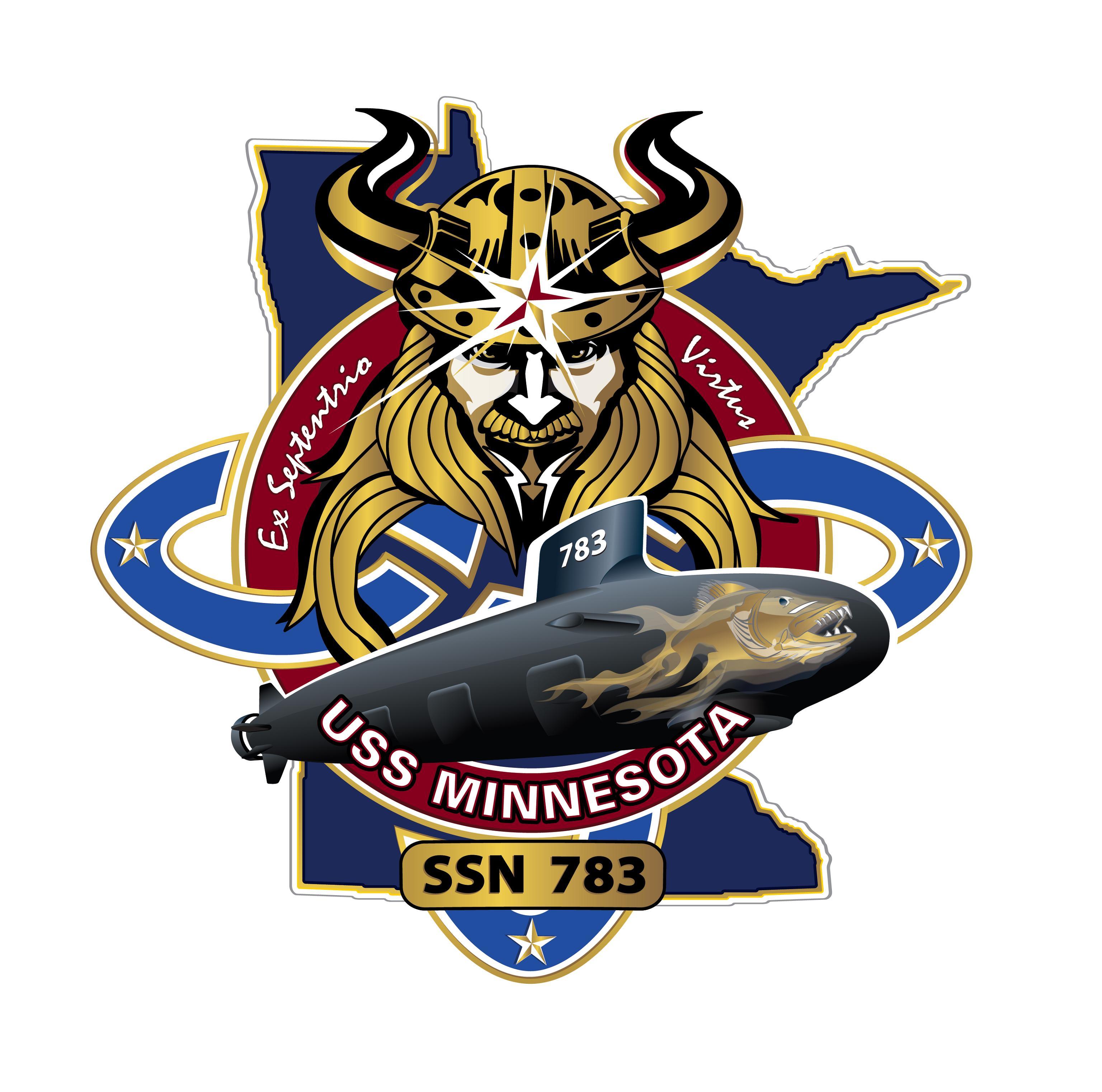 USS MINNESOTA SSN-783 CrestGrafik: U.S. Navy