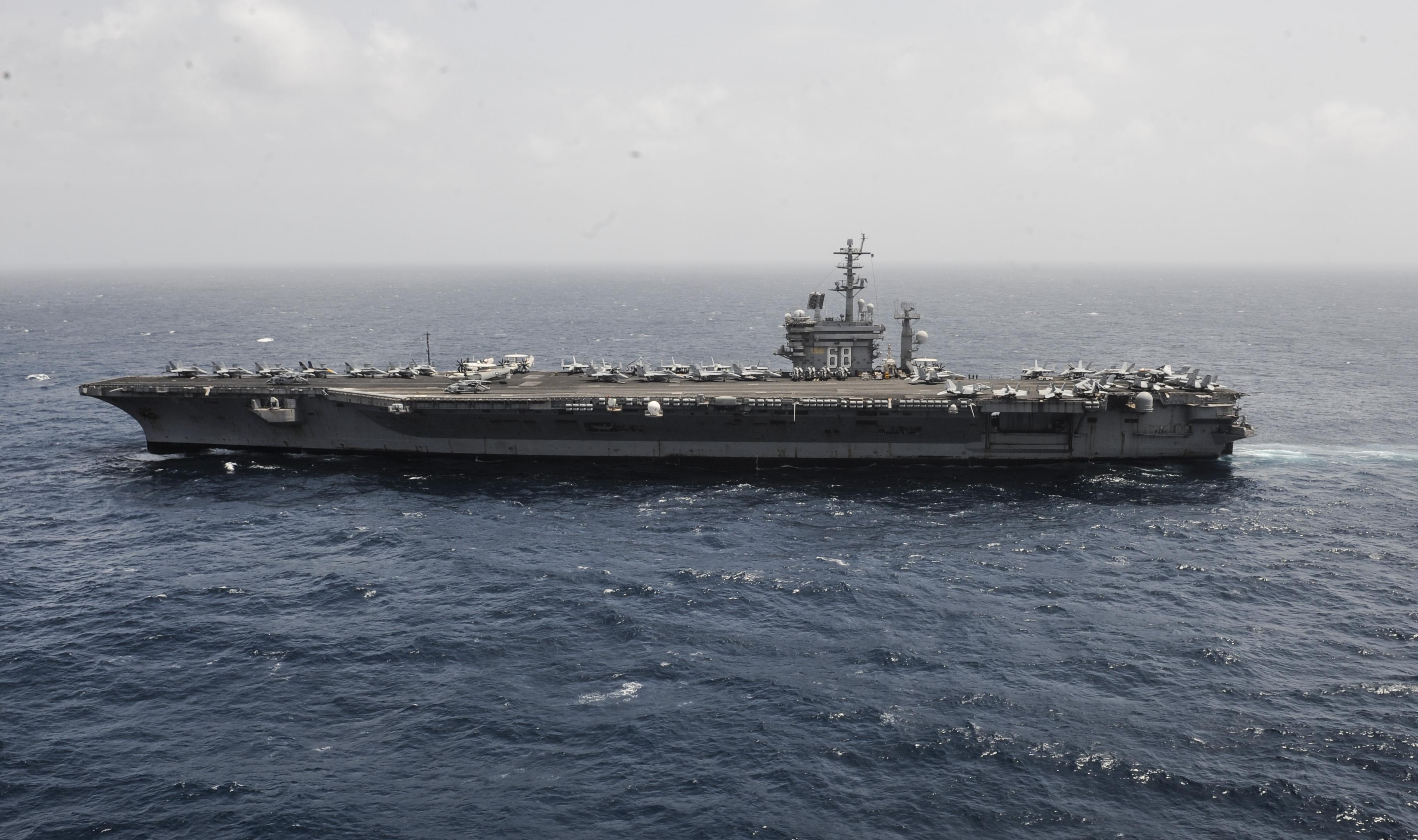 USS NIMITZ CVN-68 am 29.08.2013 im Arabischen MeerBild: U.S. Navy