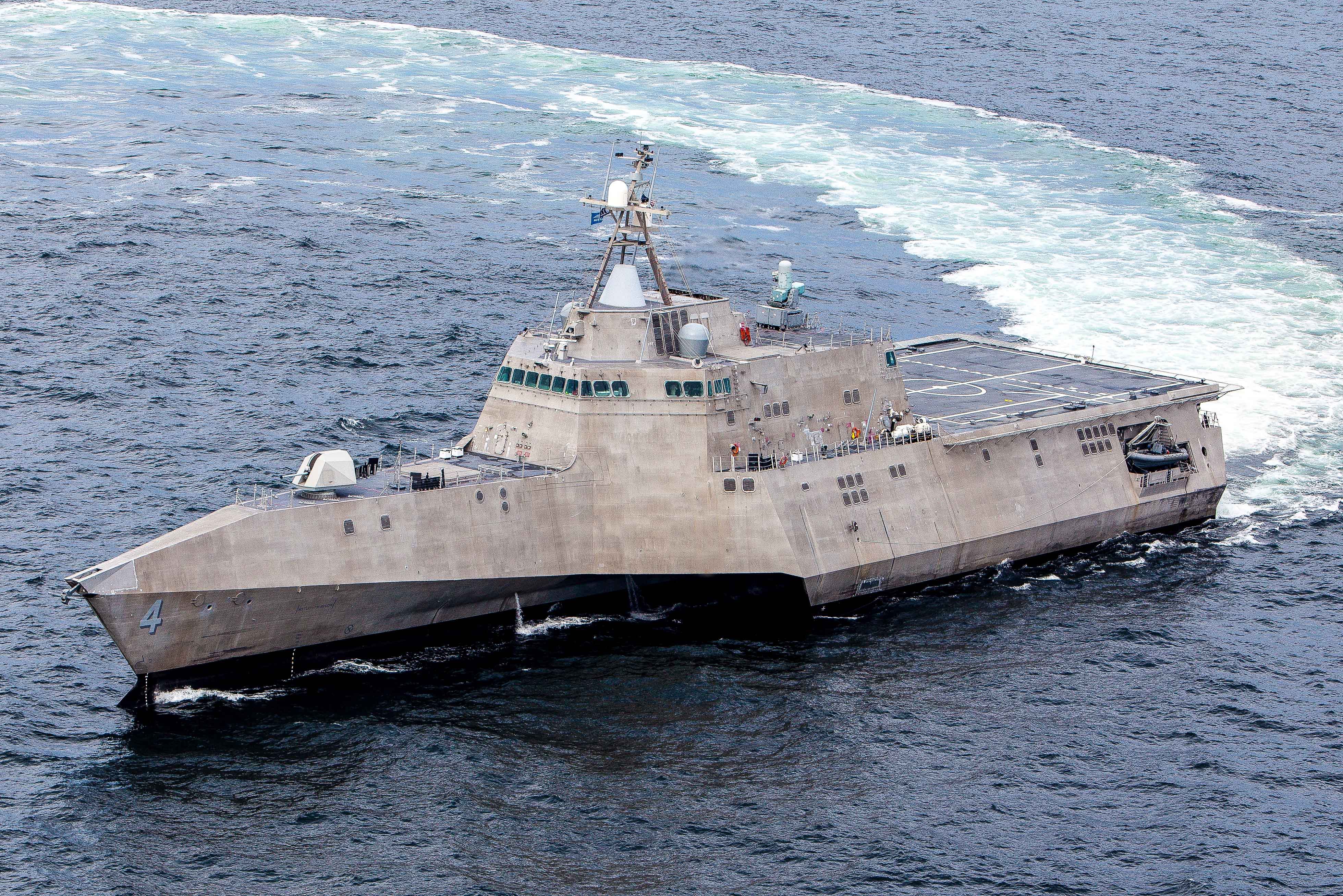 USS CORONADO LCS-4 See-ErprobungBild: Austal USA