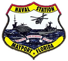 Naval Station Mayport, FL LogoGrafik: U.S. Navy
