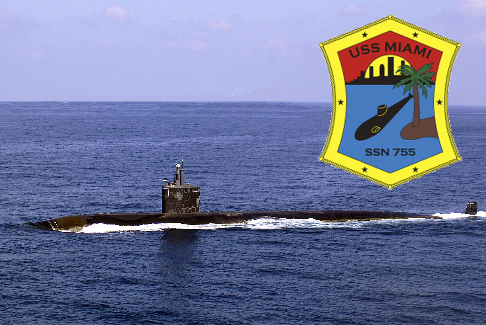 USS MIAMI SSN-755Bild und Grafik: U.S. Navy