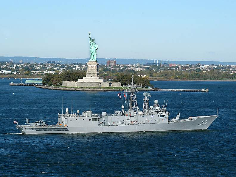 USS SIMPSON FFG-56 in New York CityBild: U.S. Navy