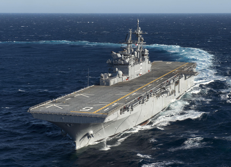 USS AMERICA LHA-6 Erste See-ErprobungBild: Huntington Ingalls Industries