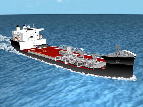 Grafische Darstellung einer Mobile Landing Platform MLPGrafik: NASSCO
