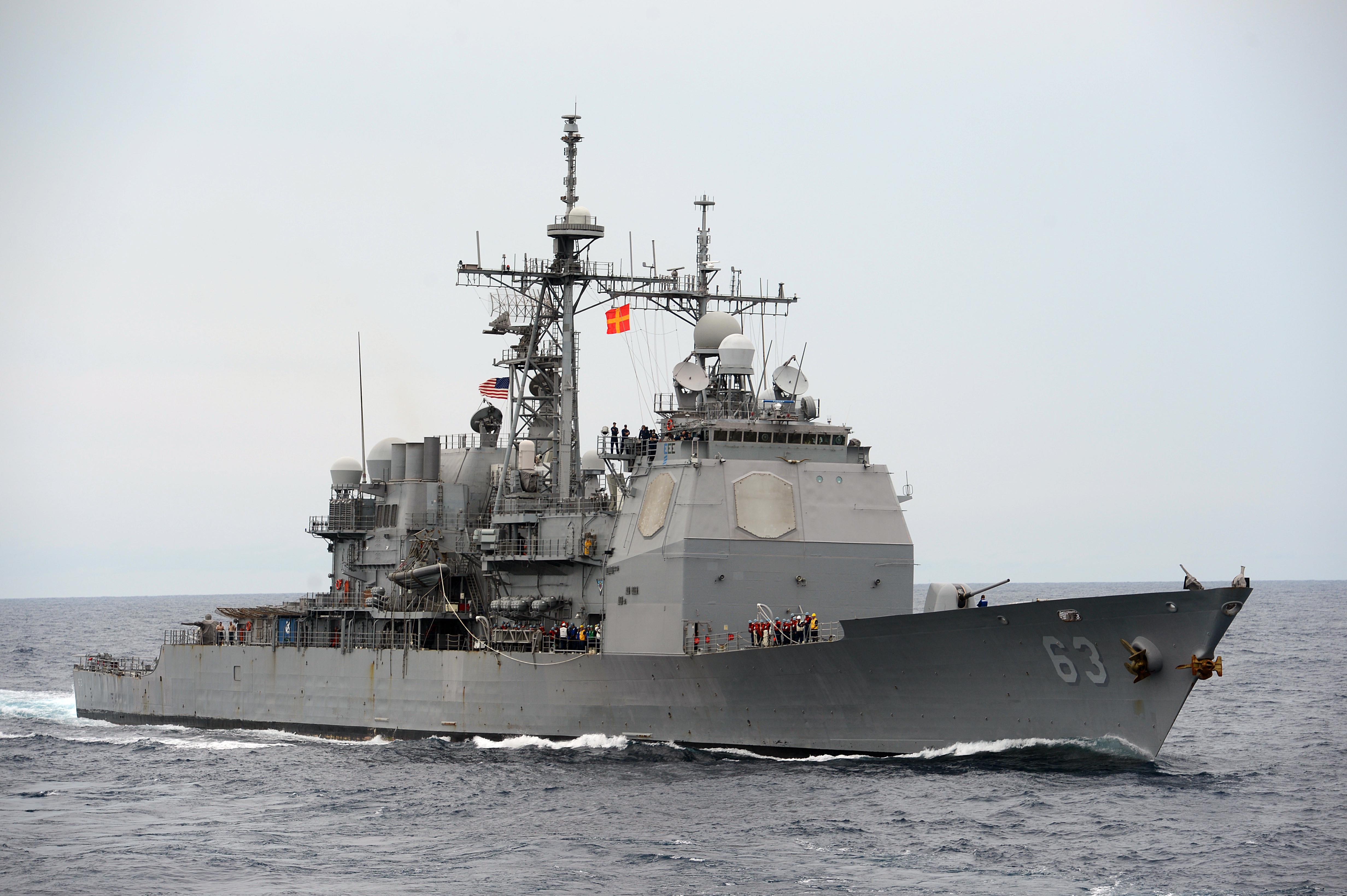 USS COWPENS CG-63 Bild: U.S. Navy