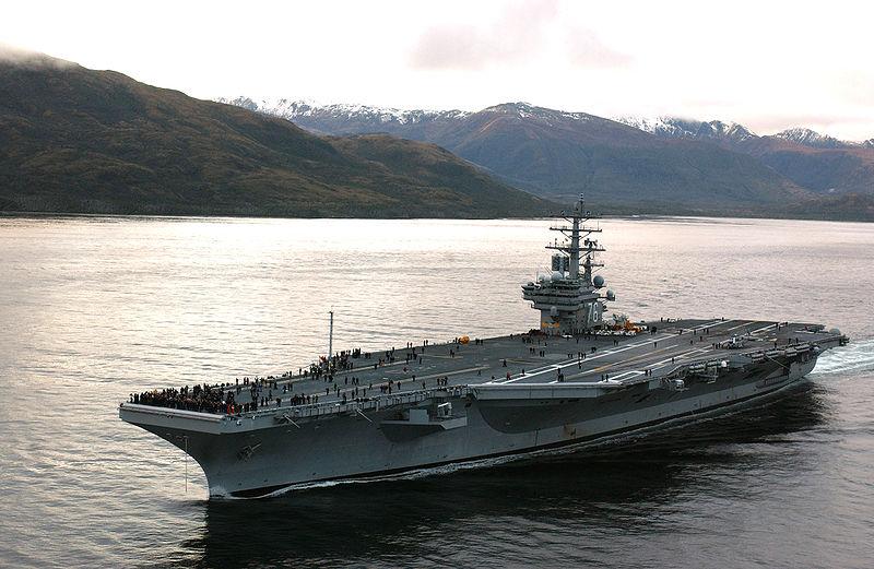 USS RONALD REAGAN CVN.76Bild: U.S. Navy