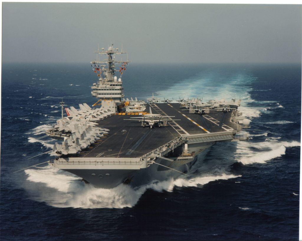 USS THEODORE ROOSEVELT CVN-71 Bild: U.S. Navy