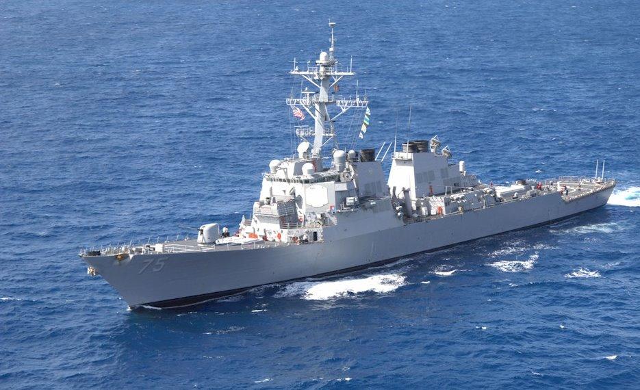 USS DONALD COOK DDG-75 Bild: U.S. Navy