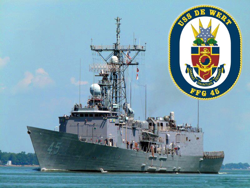 USS DE WERT FFG-45 Bild und Grafik: U.S. Navy