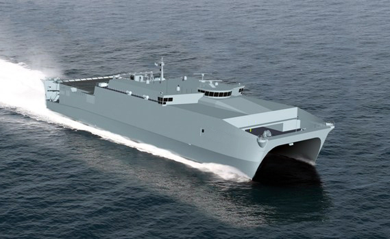 Joint High Speed Vessel JHSV Grafik: U.S. Navy