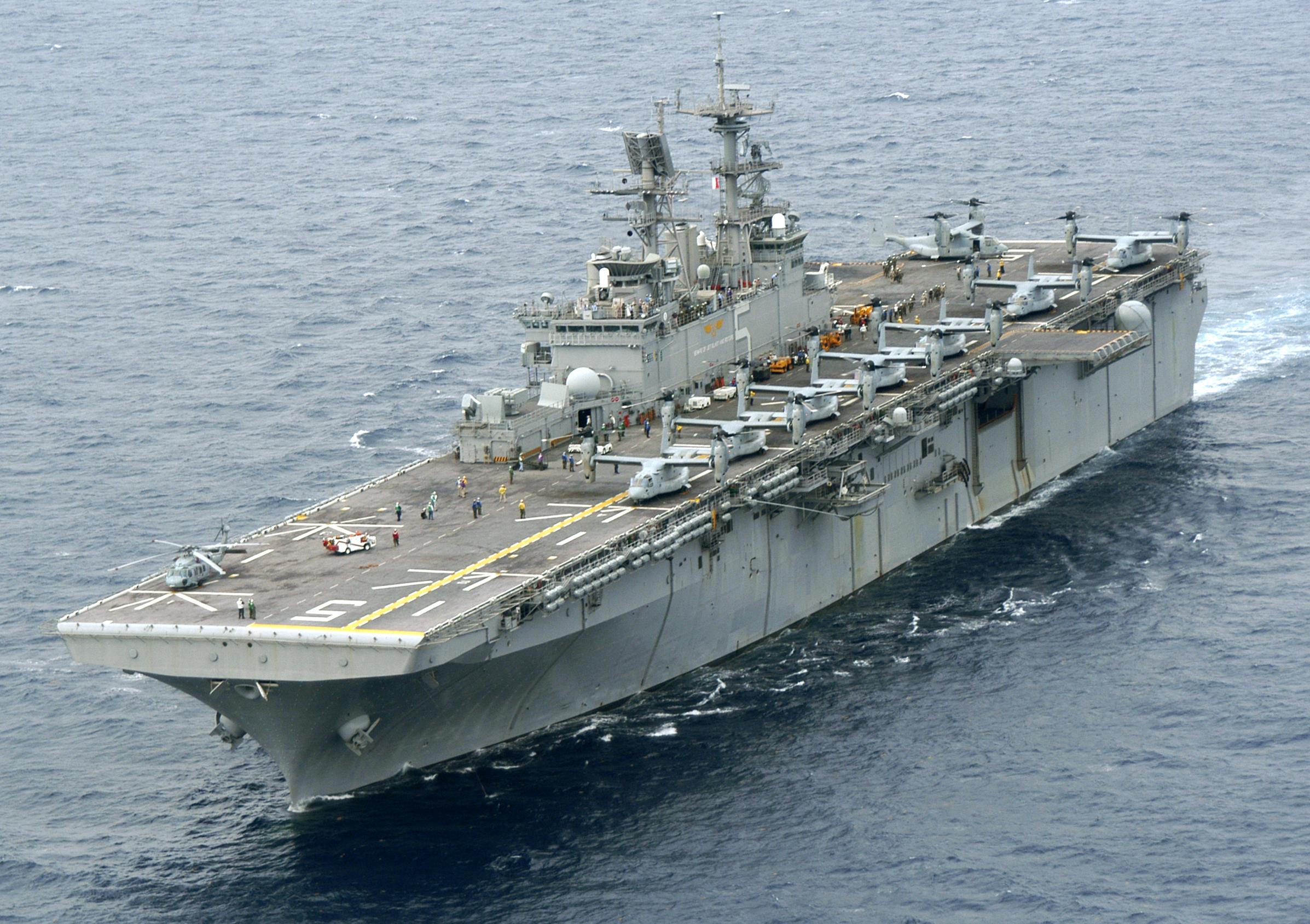 USS BATAAN LHD-5 Bild: U.S. Navy