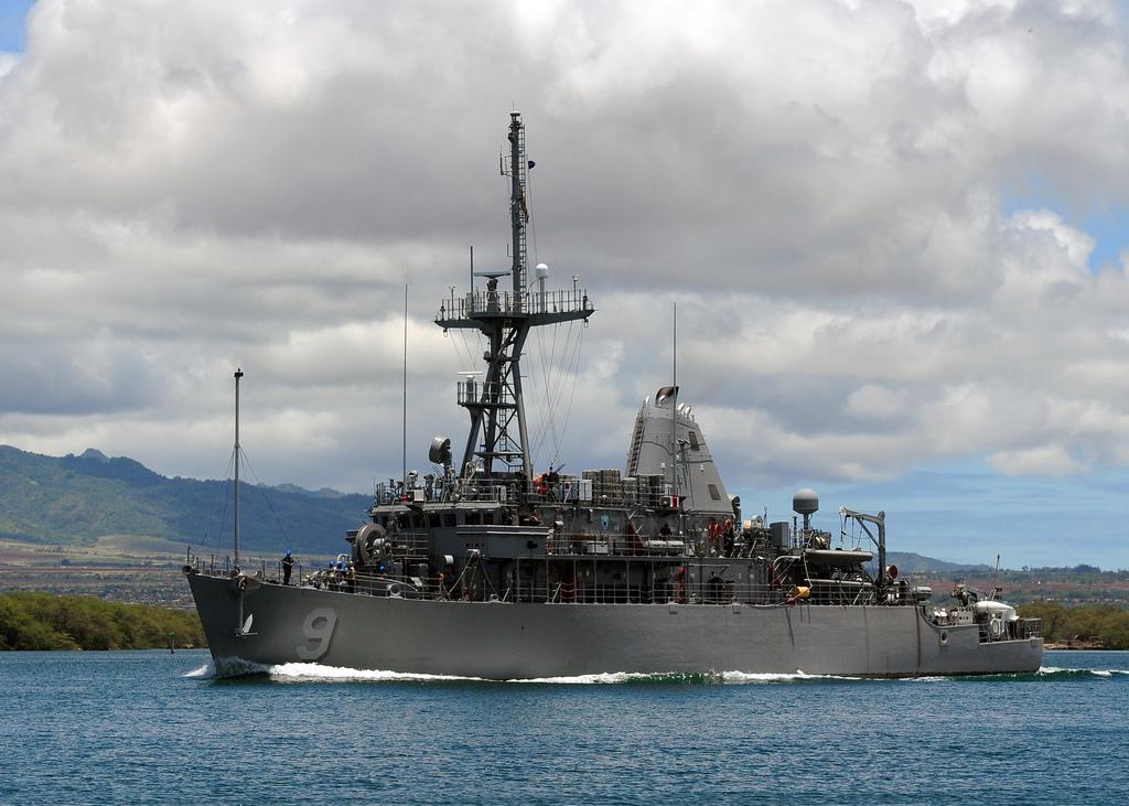 USS PIONEER MCM-9 Bild: U.S. Navy