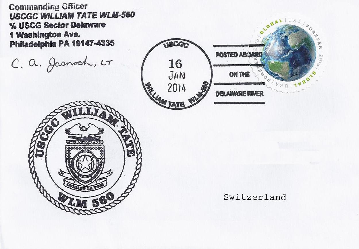 Beleg USCGC WILLIAM TATE WLM 560 von Christian Seonbuchner