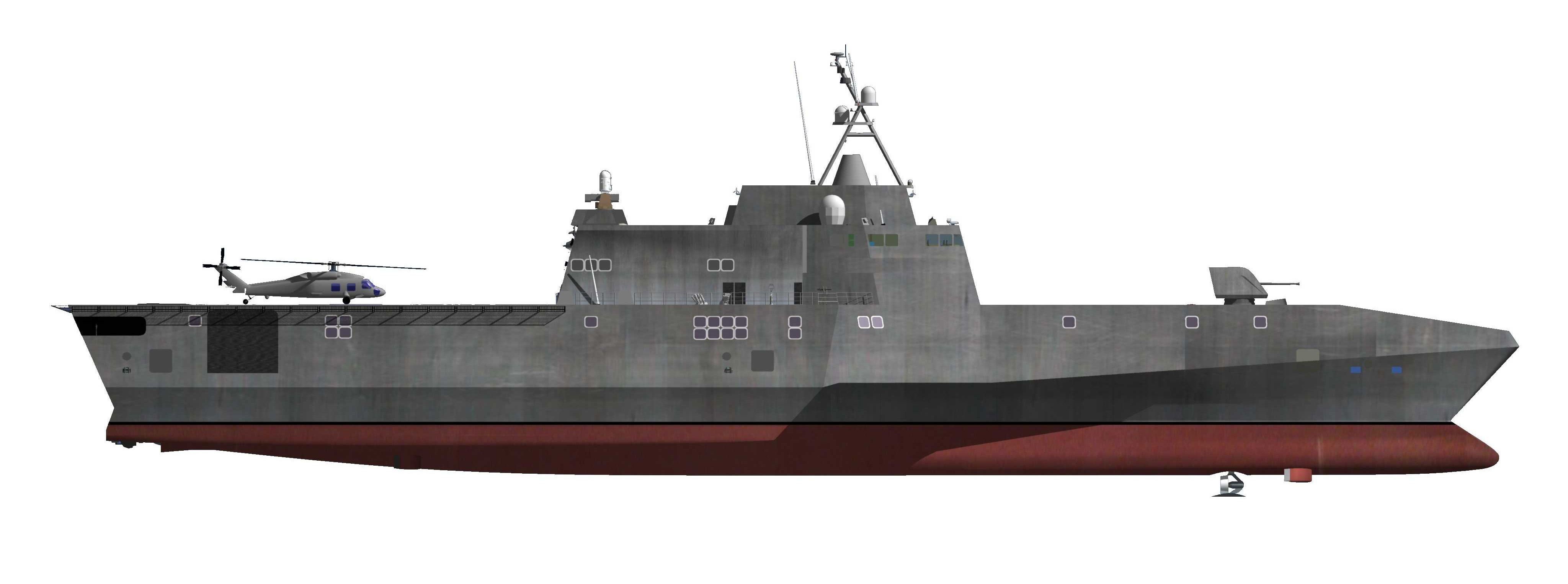 Grafik INDEPENDENCE-Class Littoral Combat Ship Grafik: U.S. Navy