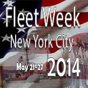 Logo Fleet Week New York City 2014 Grafik: U.S. Navy