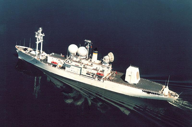 USNS OBSERVATION ISLAND T-AGM 23 Bild: U.S. Navy