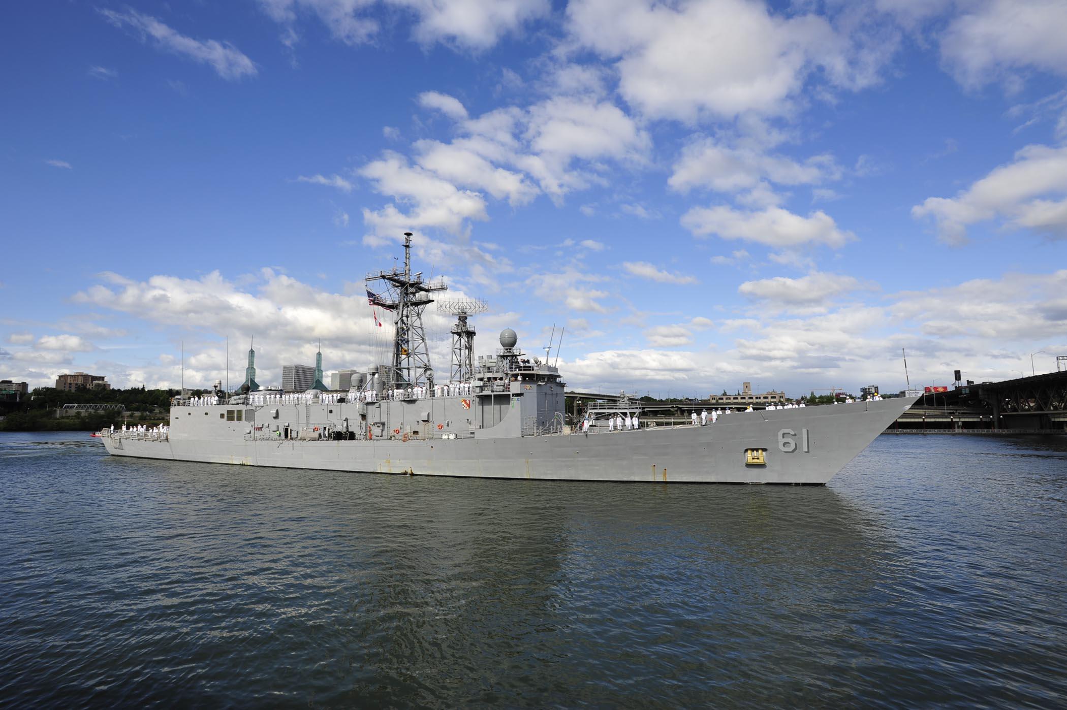 USS INGRAHAM FFG-61 Bild: U.S. Navy