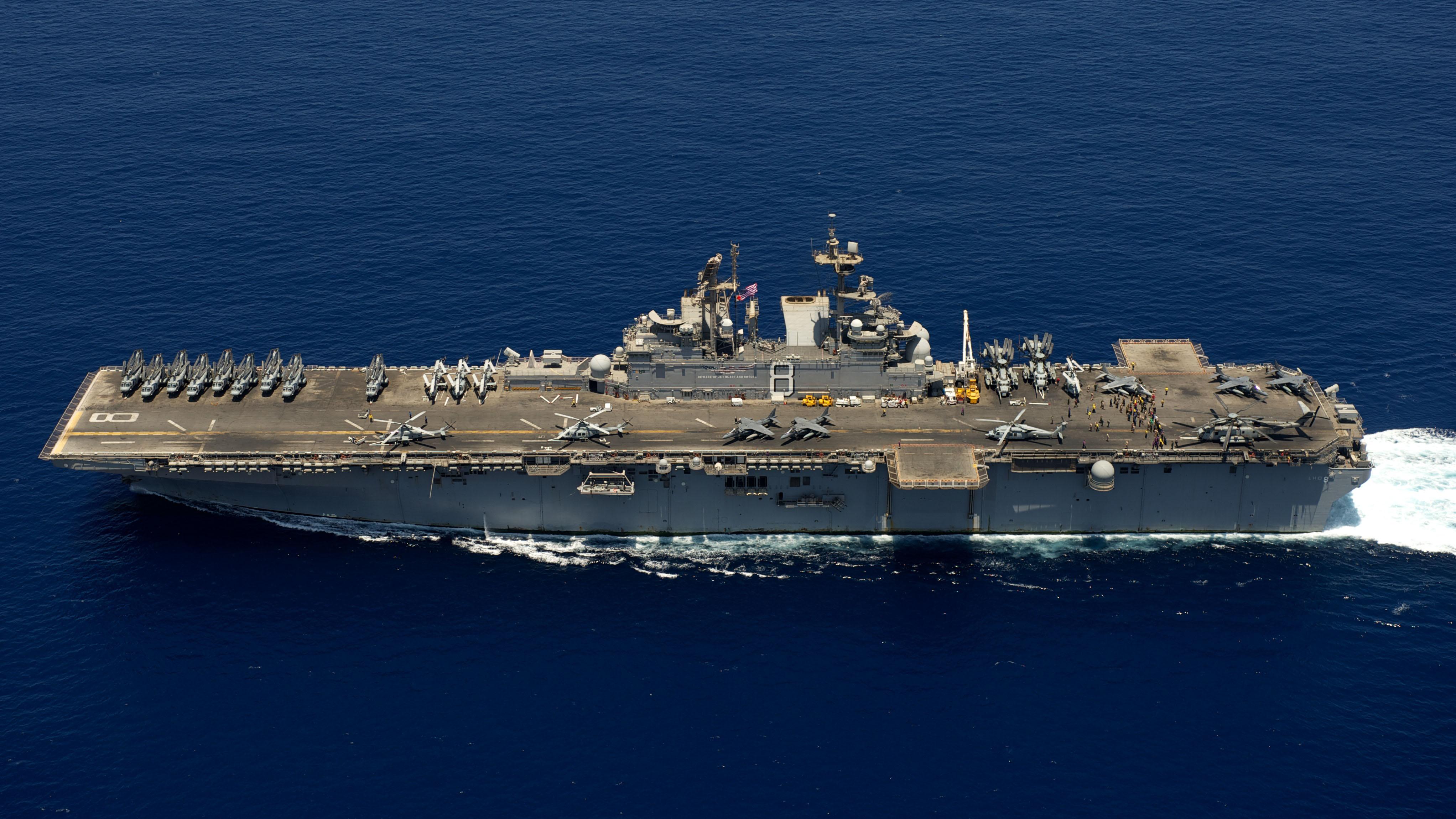 USS MAKIN ISLAND LHD-8 Bild: U.S. Navy