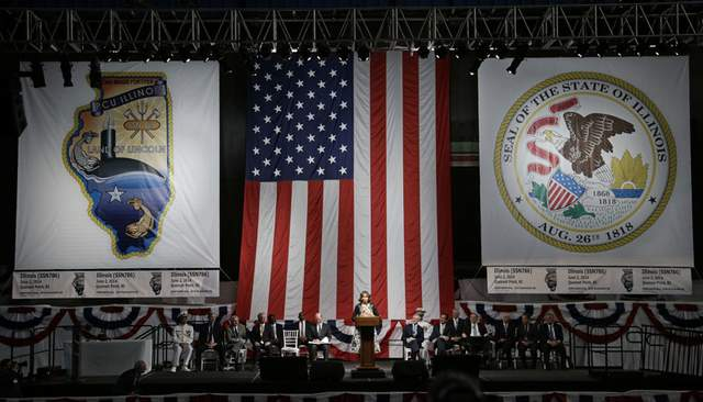 USS ILLINOIS SSN-786 Keel Laying Ceremony Bild: Electric Boat