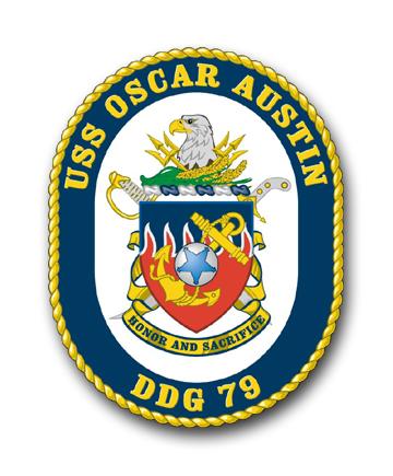 USS OSCAR AUSTIN DDG-79 Crest Grafik: U.S. Navy