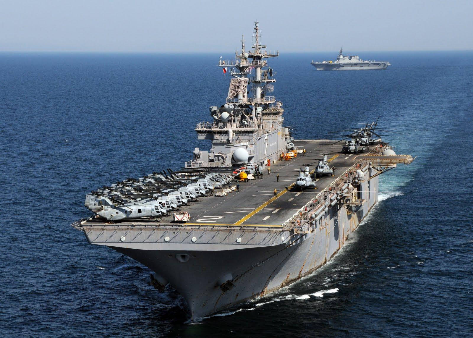 USS ESSEX LHD-2 Bild: U.S. Navy