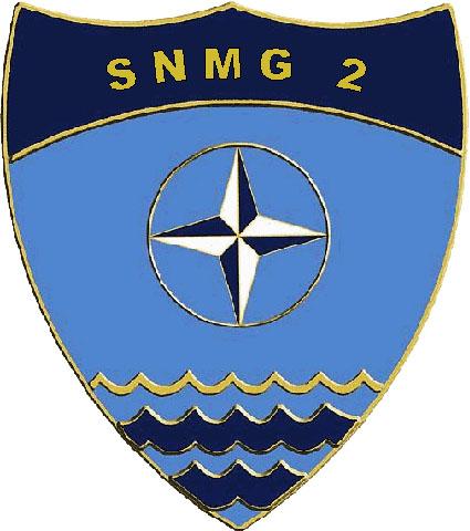 Logo SNMG-2 Grafik: NATO