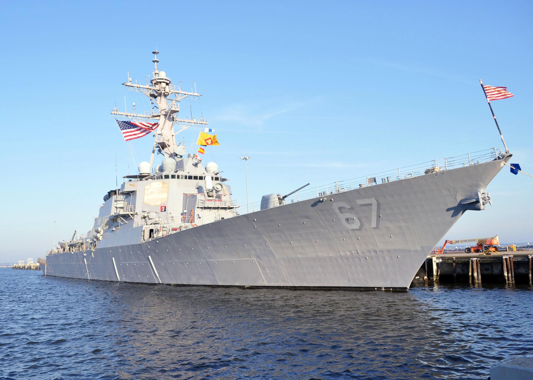 USS COLE DDG-67 Bild: U.S. Navy