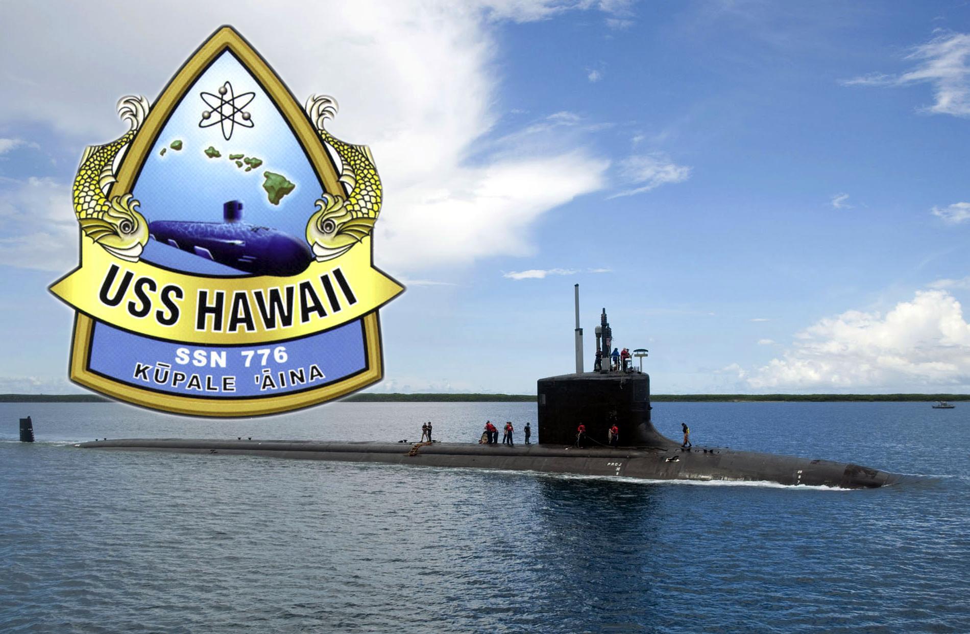 USS HAWAII SSN-776 Bild und Grafik: U.S. Navy