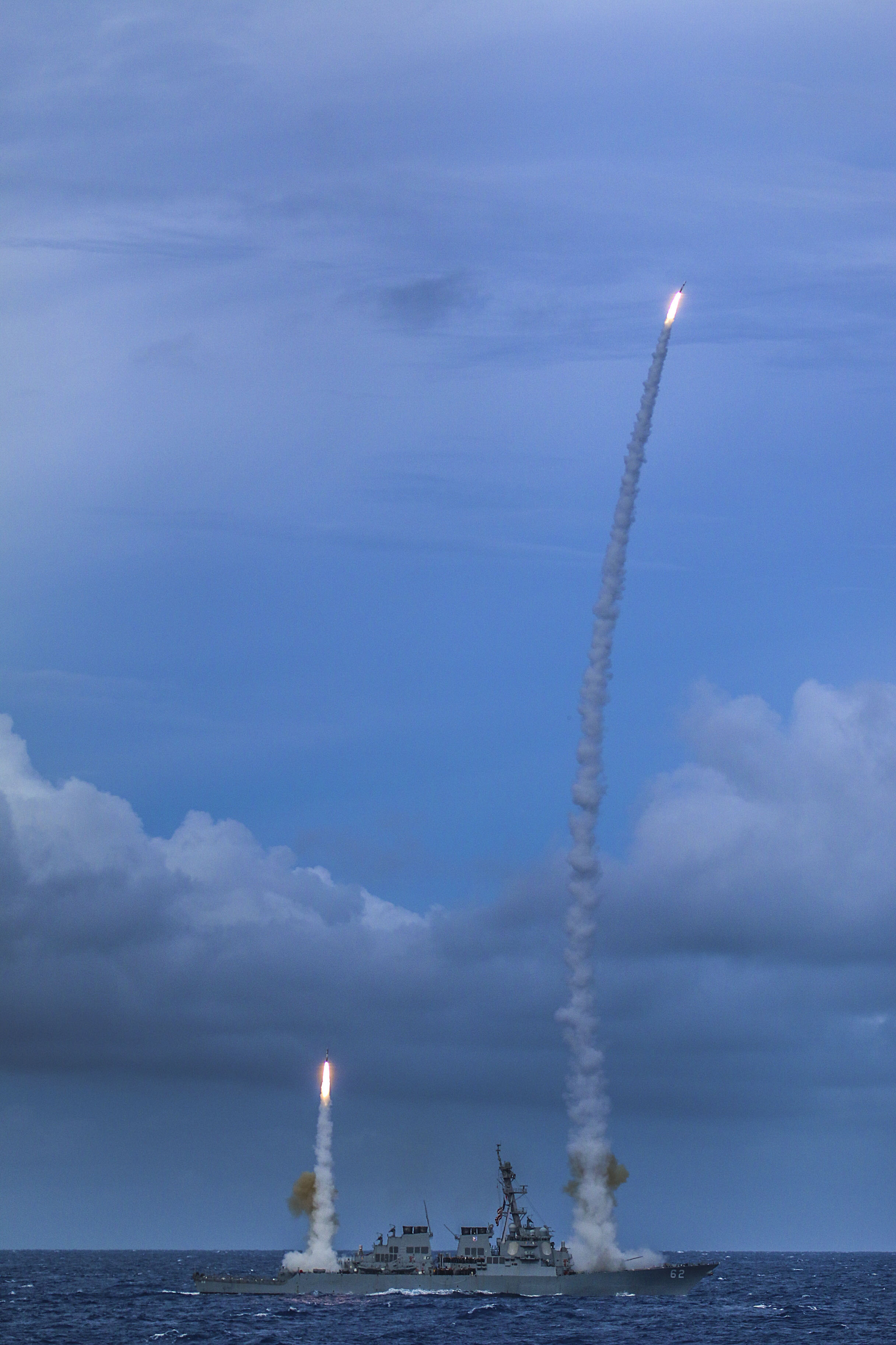 USS FITZGERALD DDG-62 Raketenabschuss am 15.09.2014 Bild: U.S. Navy