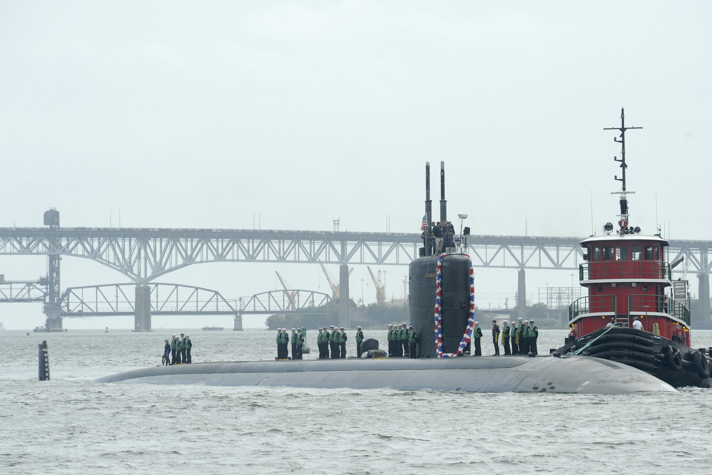 USS ANNAPOLIS SSN-760 Einlaufen Groton am 11.09.2014 Bild: U.S. Navy