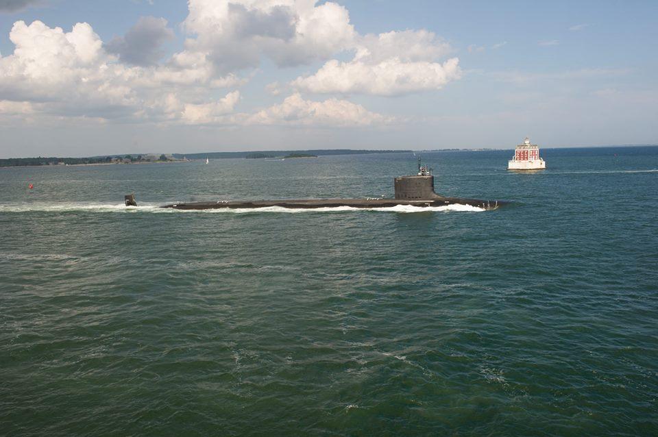 USS NORTH DAKOTA SSN-784 bei der See-Erprobung Bild: U.S. Navy