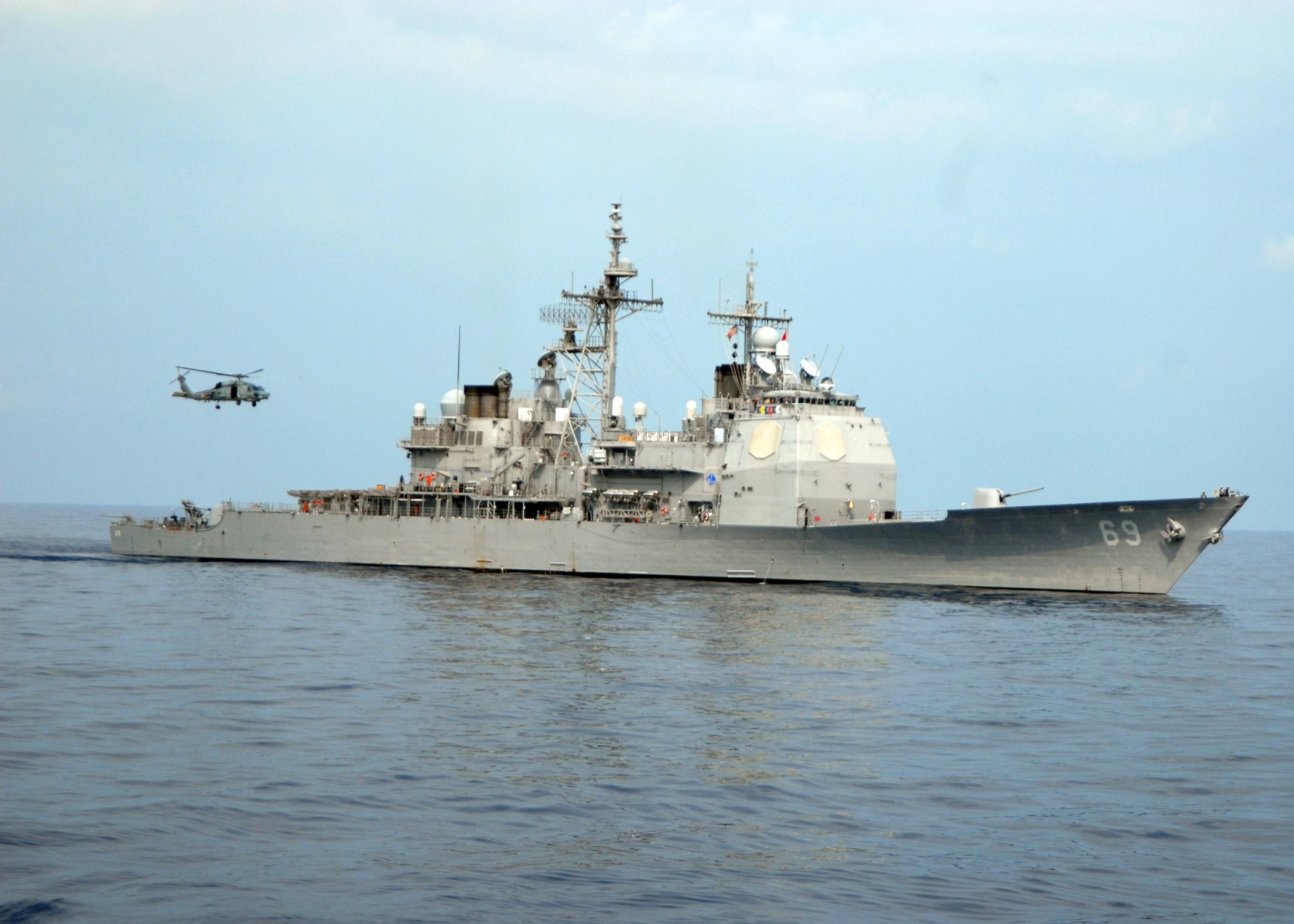 USS VICKSBURG CG-69 Bild: U.S. Navy