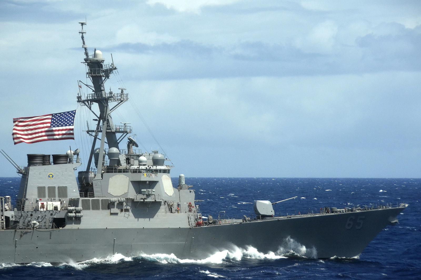 USS BENFOLD DDG-65 Bild: U.S. Navy