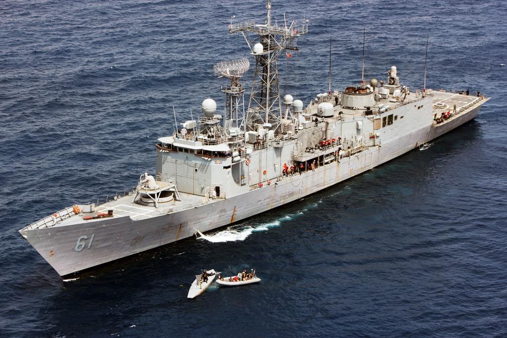 USS INGRAHAM FFG-61 am 18.05.2014 im Pazifik Bild: U.S. Navy