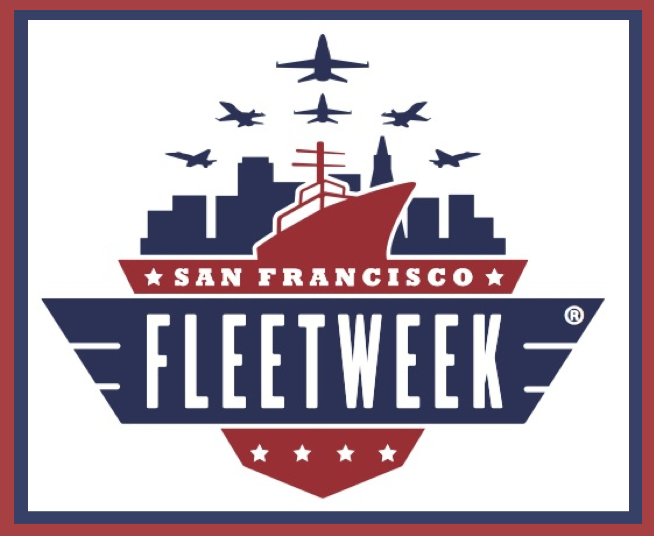 Fleet Week San Francisco Logo Grafik: San Francisco Fleet Week Association