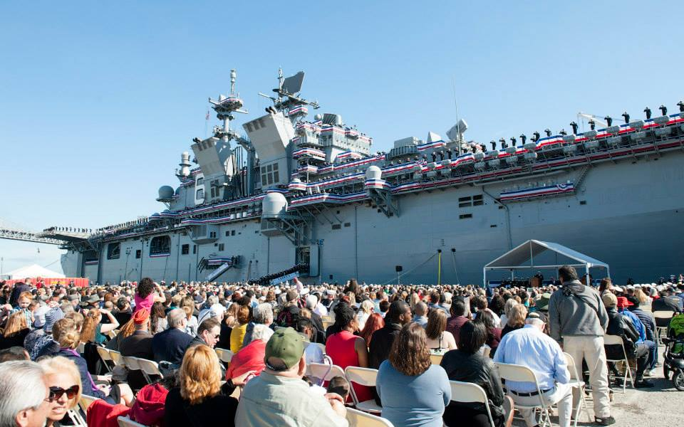 USS AMERICA LHA-6 Commissioning Bild: U.S. Navy