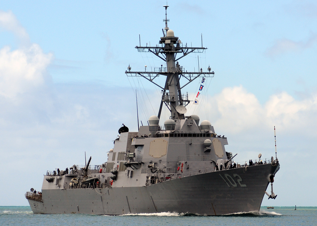 USS SAMPSON DDG-102 Bild: U.S. Navy