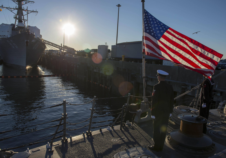 USS INGRAHAM FFG-61 Decommissioning Ceremony Bild: U.S. Navy