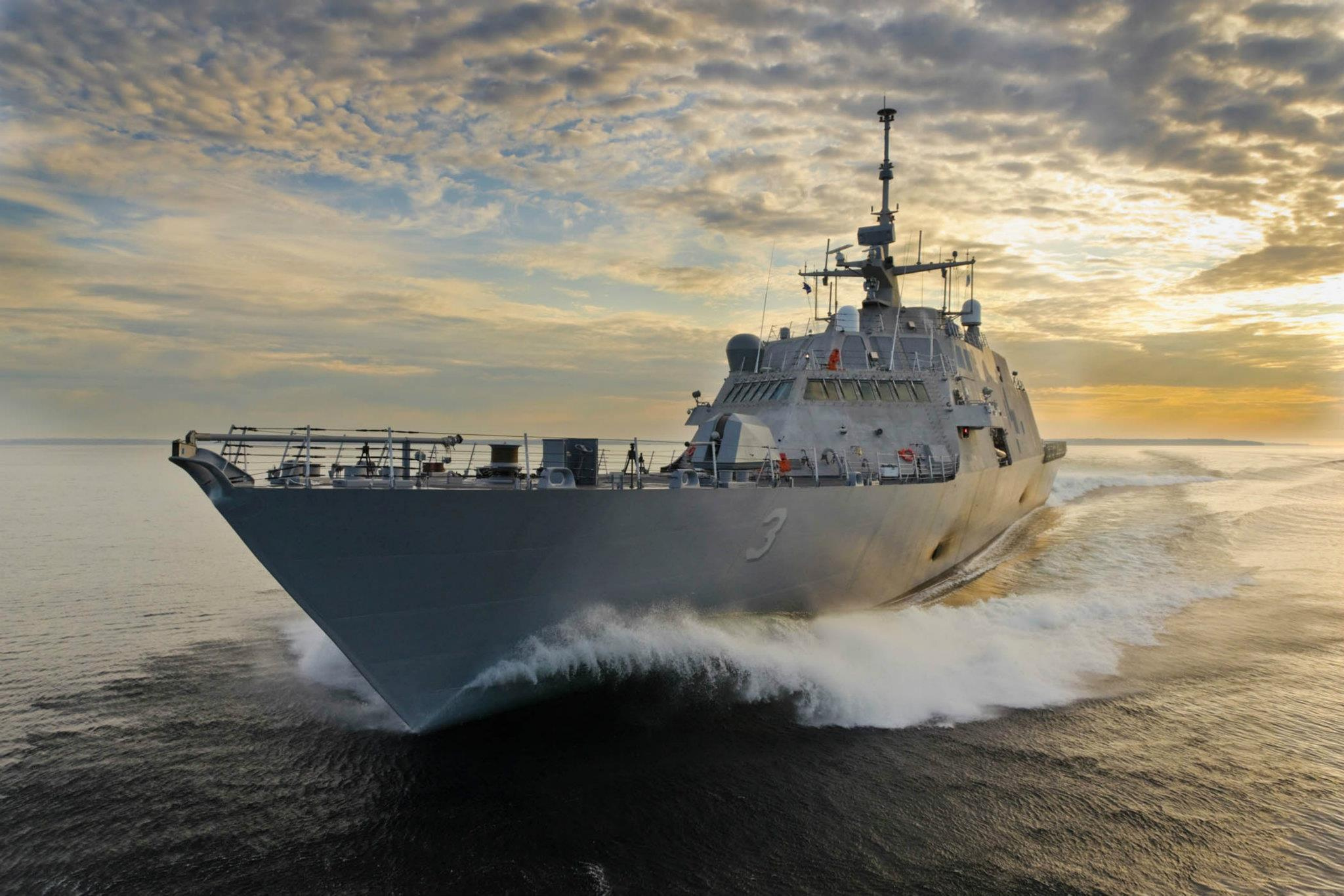USS FORT WORTH LCS-3 Bild: Lockheed Martin