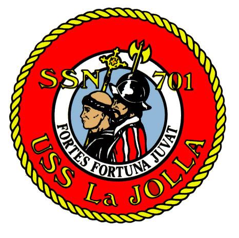 USS LA JOLLA SSN-701 Crest Grafik: U.S. Navy