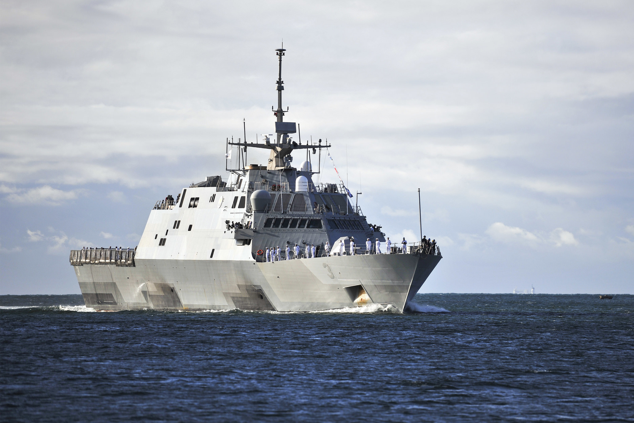 USS FORT WORTH LCS-3 im November 2014 vor Hawaii Bild: U.S. Navy