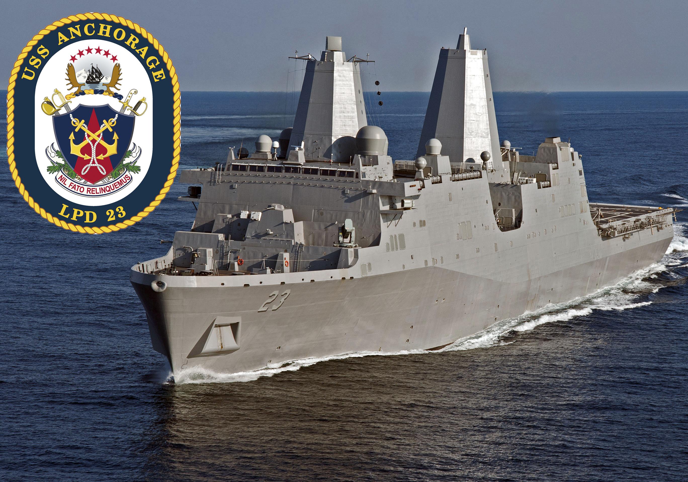 USS ANCHORAGE LPD-23 Bild und Grafik: U.S. Navy