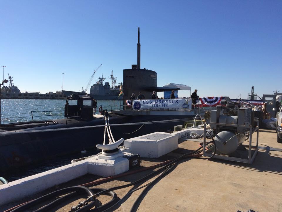 USS NORFOLK SSN-714 Inaktivierung 11.12.2014 Bild: USS NORFOLK Facebook page