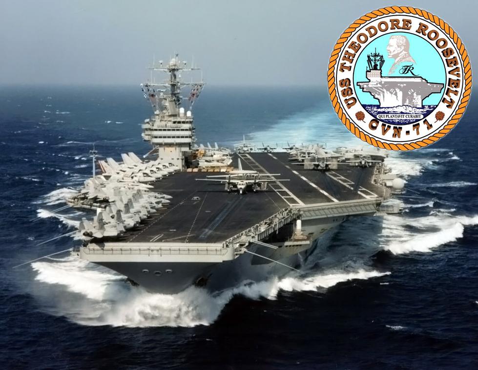 USS THEODORE ROOSEVELT CVN-71 Bild und Grafik: U.S. Navy