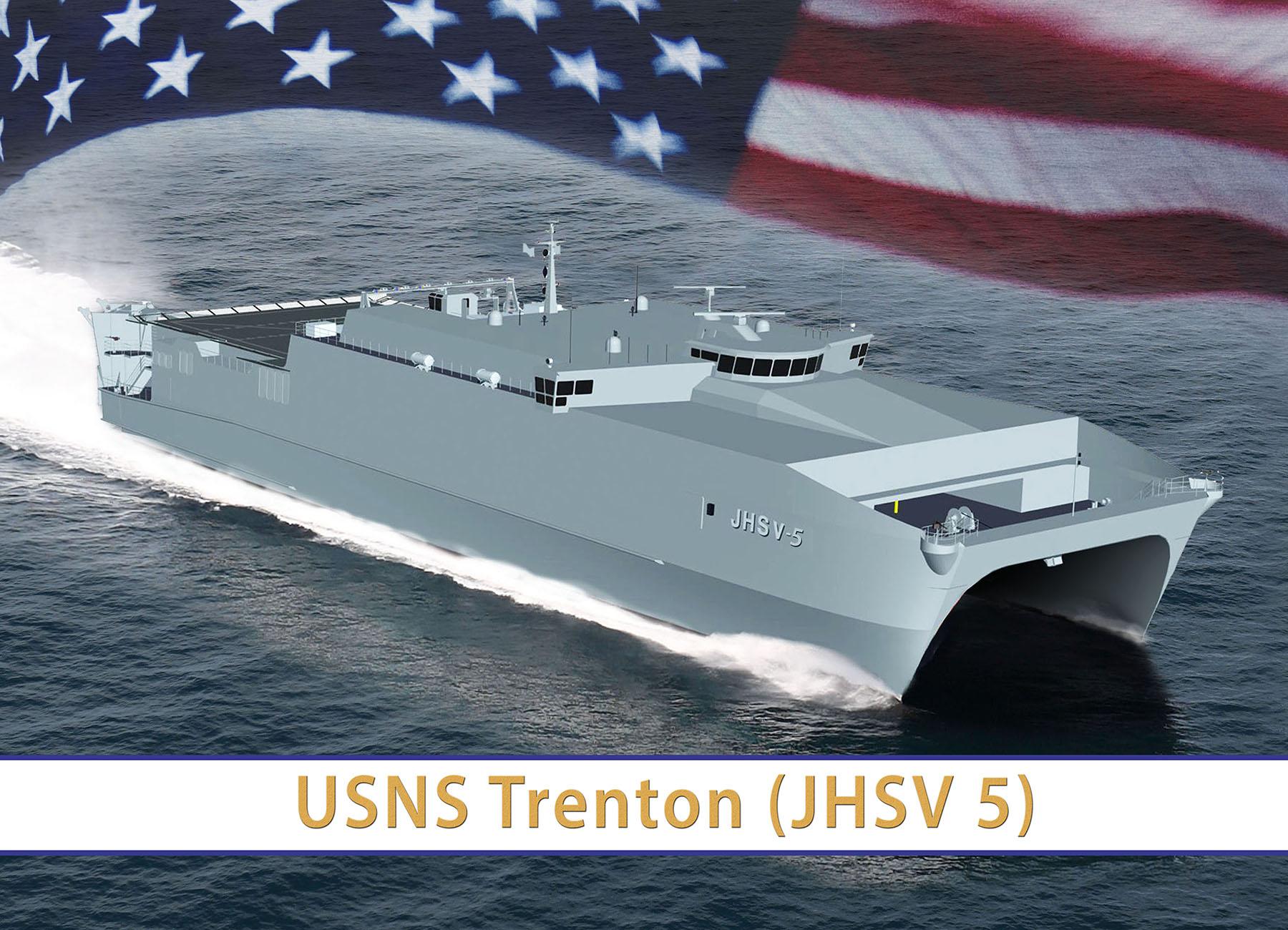 USNS TRENTON JHSV-5 Grafik: U.S. Navy