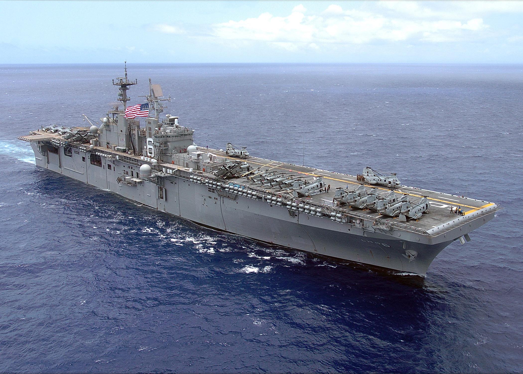 USS BONHOMME RICHARD LHD-6 Bild: U.S. Navy