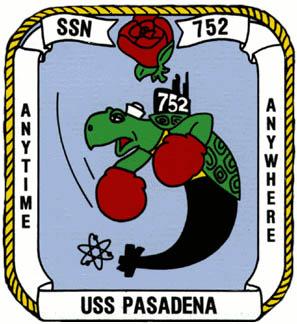 USS PASADENA SSN-752 Crest Grafik: U.S. Navy
